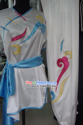 Chinese Classic Embroidered Cloud Kung Fu Uniform