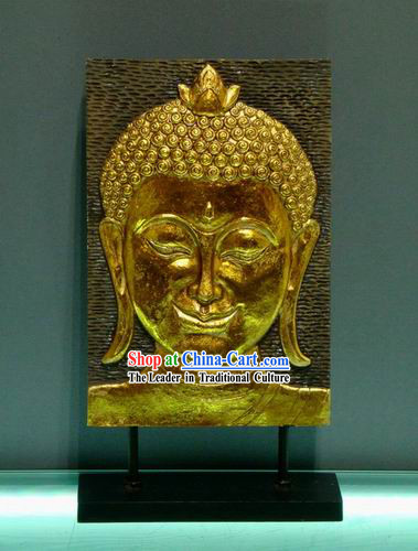 Traditional Asia Thai Buddha Head