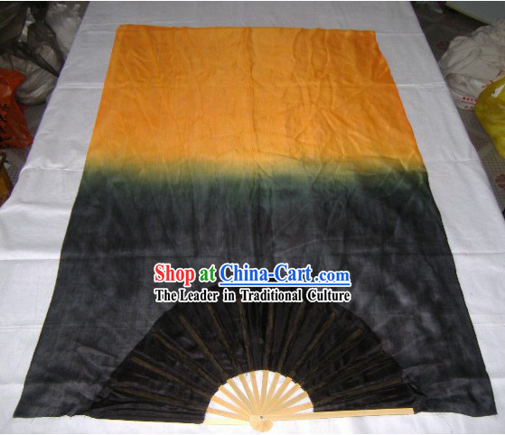 Chinese Traditional Long Silk Fans