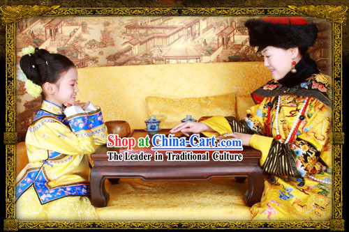 China Ancient Princess Clothing Complete Set