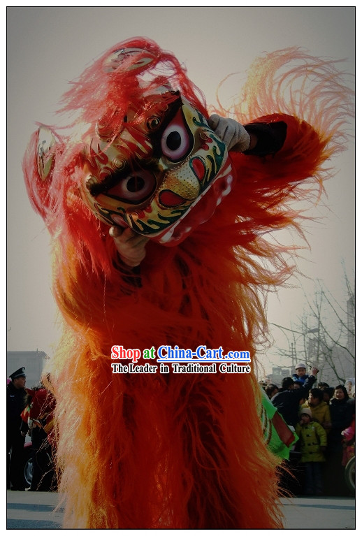 One Person Northern Lion Dance Costume