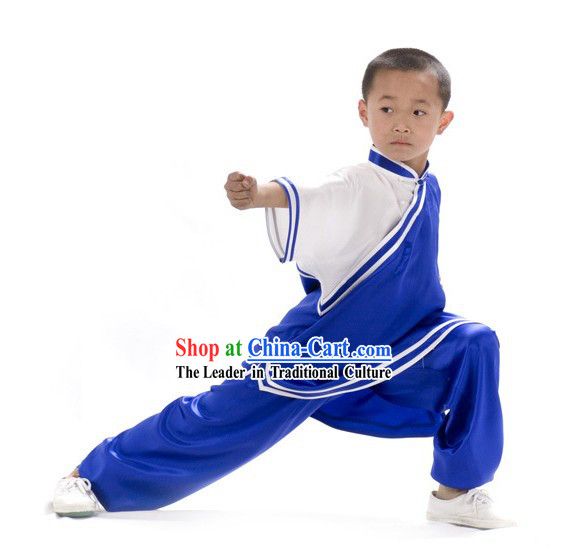 Chinese Professional Kung Fu Competition Uniform for Children