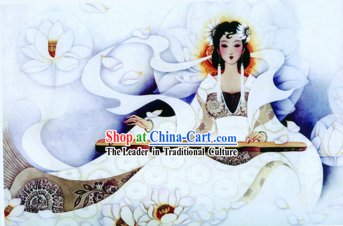 Chinese Cloisonne Enamel Filigree Gold Inlaid Silver Vermeil - Ancient Fairy