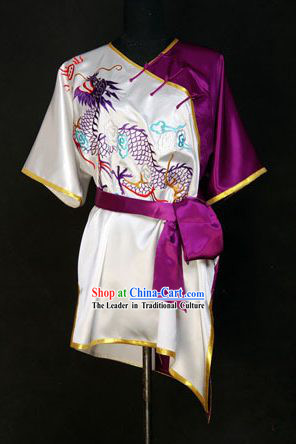 Professional China Martial Arts Performance and Practice Uniform