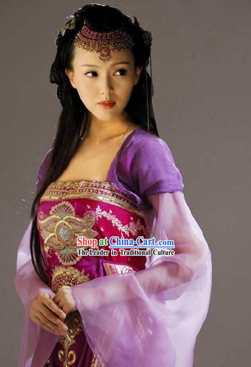 Zi Xuan Costume in Chinese Paladin TV Drama Costumes Film Costume