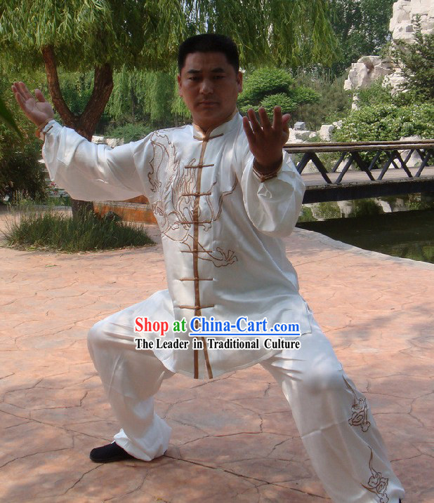 Chinese Dragon Tai Chi Martial Arts Uniform Set