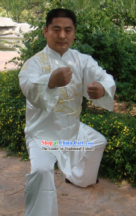 Chinese Silk Kung Fu Suit Set
