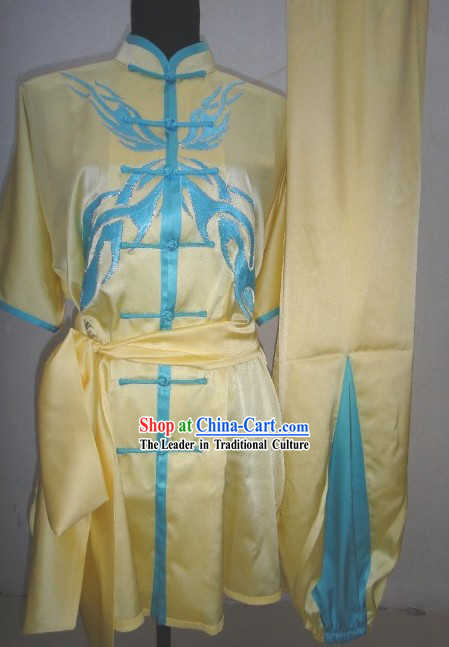 Traditional Chinese Kung Fu Master Dress Complete Set