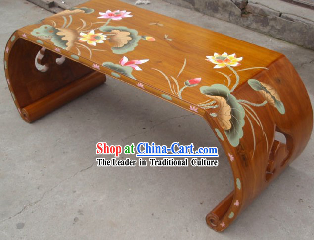 Chinese Gu Zheng Koto Musical Instrument Desk