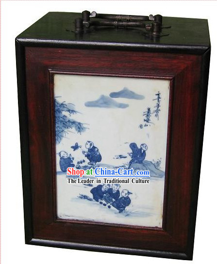 Chinese Classical Mahjong Wooden Box
