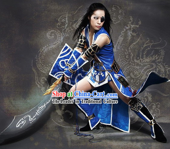 Halloween Cosplay Costume and Accessories Set
