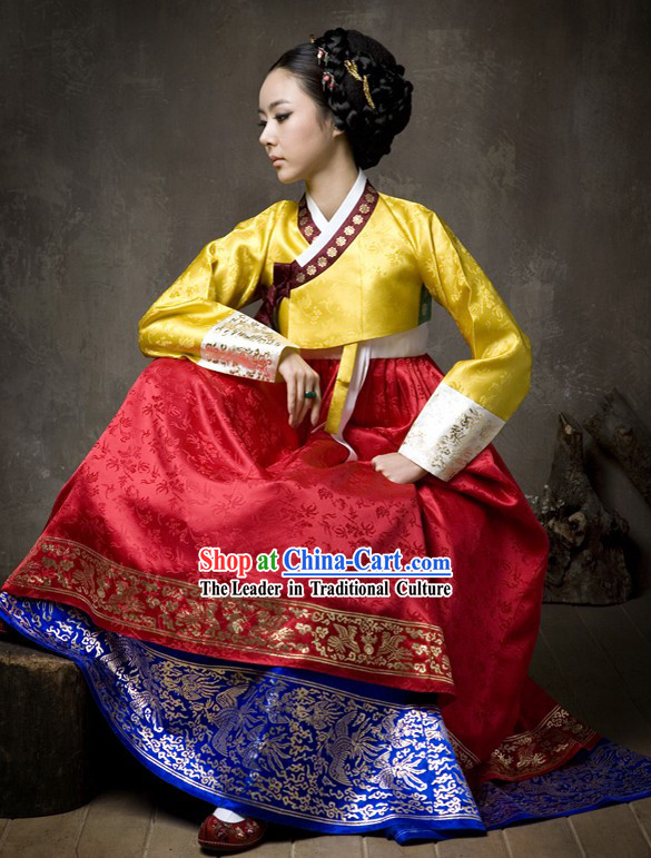 Traditional Korean Garment Hanbok Complete Set