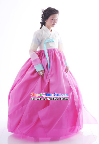 National Costume of Korea Traditional Korean Hanbok National Dress Set