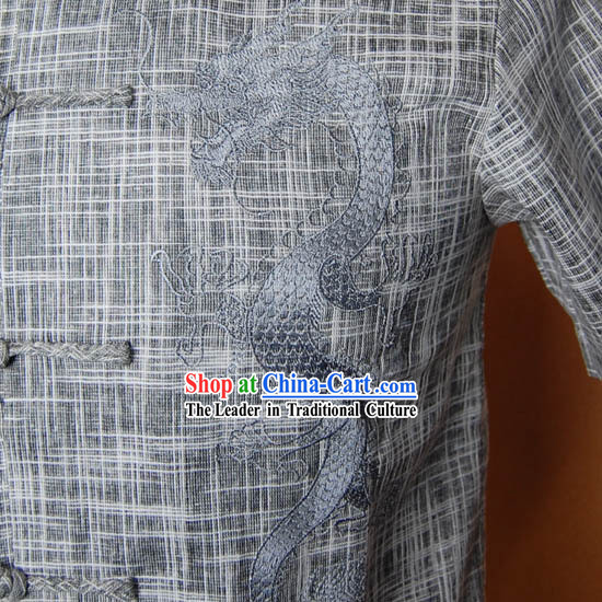 Chinese Tang Zhuang Men Shirt