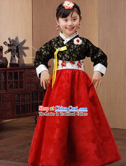 Traditional Korean Hanbok for Children