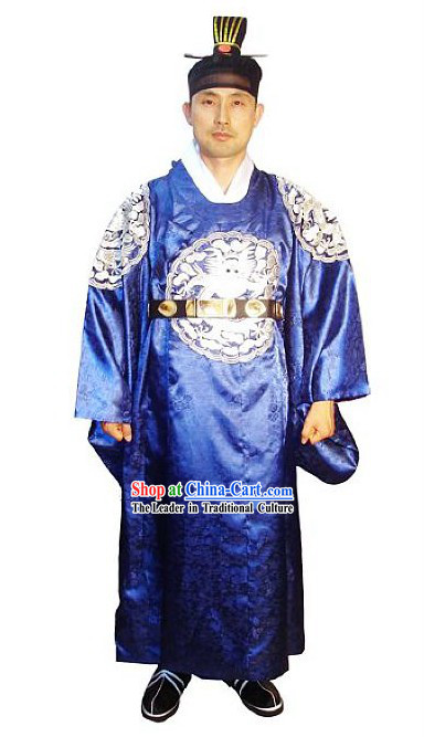 Ancient Korean Official Costumes Set