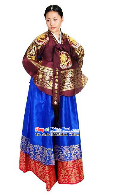 Korean Palace Empress Dress Complete Set