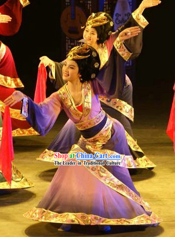 Chinese Palace Dance Costume Complete Set