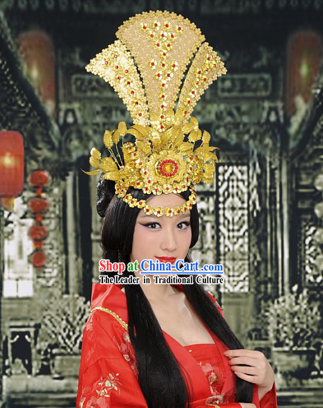 Chinese Classical Peacock Wedding Crown