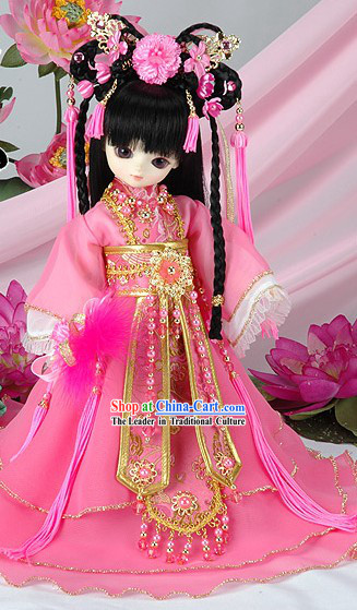Chinese Princess Dress and Hair Decoration Set