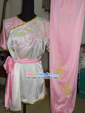 Traditional Phoenix Silk Tai Chi Suit