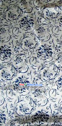 Traditional Chinese Ancient Ceramic Silk Fabric