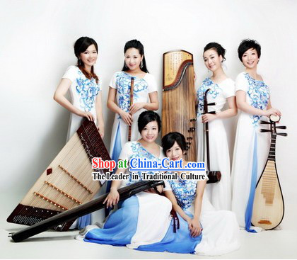 Chinese Traditional Musician Uniform