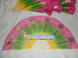 Traditional Korean Transparent Dance Fan