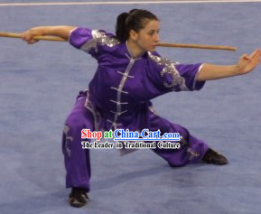 Chinese Wushu Competition Uniform for Women