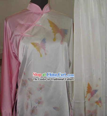 Chinese Butterfly Tai Chi Kung Fu Uniform for Women