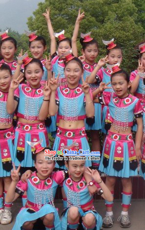 Chinese Miao Minority Dance Costume for Children