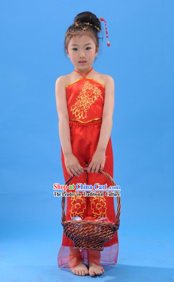Chinese Folk Dance Costume for Children