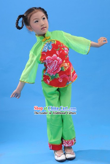Dongbei Da Yang Ge Dance Costume for Children