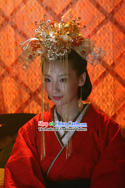 Ancient Chinese Empress Wedding Crown
