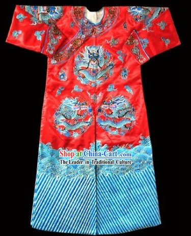 Chinese Beijing Opera Embroidered Dragon Costume
