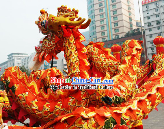 Supreme Olympic Games Dragon Dance Costumes Complete Set