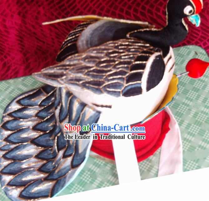 Ancient Chinese Opera Performance Bird Hat