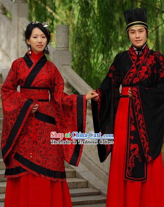 Woman Chinese Wedding Dress