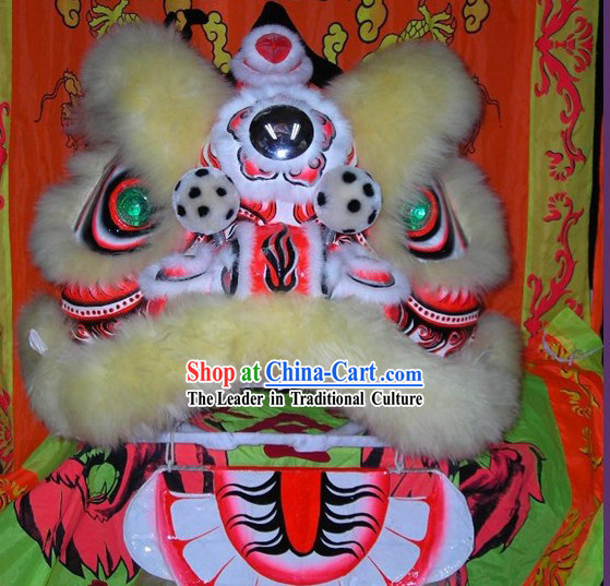 Tiger Stripe FUT SAN Lion Dance Costume Complete Set