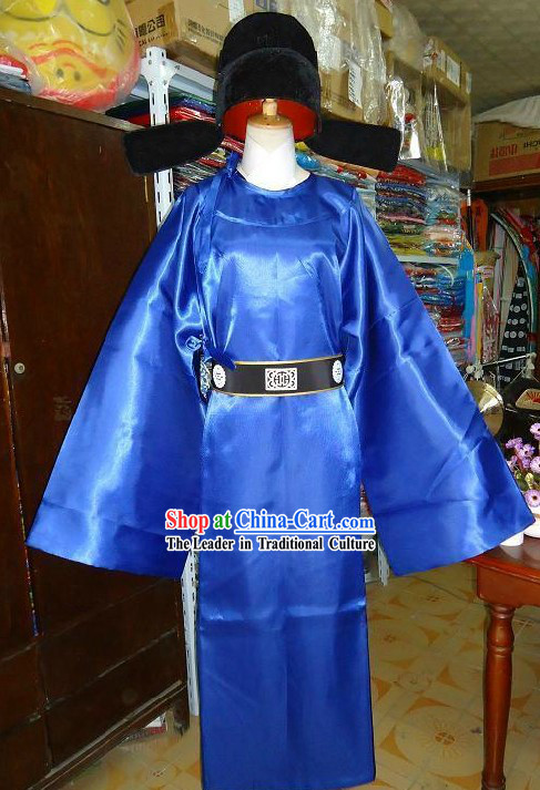 Ming Dynasty Government Official Costume and Hat