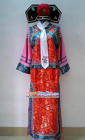 Princess Pearl of Returning Costume Qing Dynasty Princess Outfit