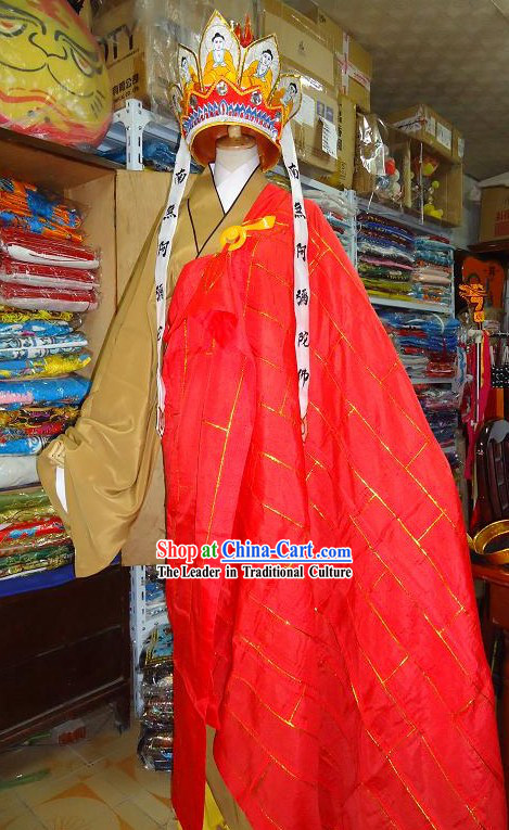 Ancient Chinese Tang Seng Monk Costume