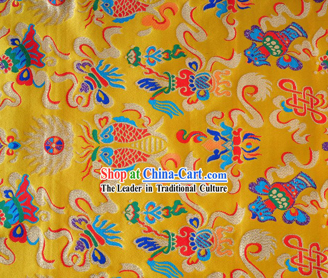 Traditional Chinese Lucky Brocade Fabric
