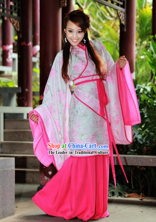 Ancient Chinese Princess Clothing Complete Set