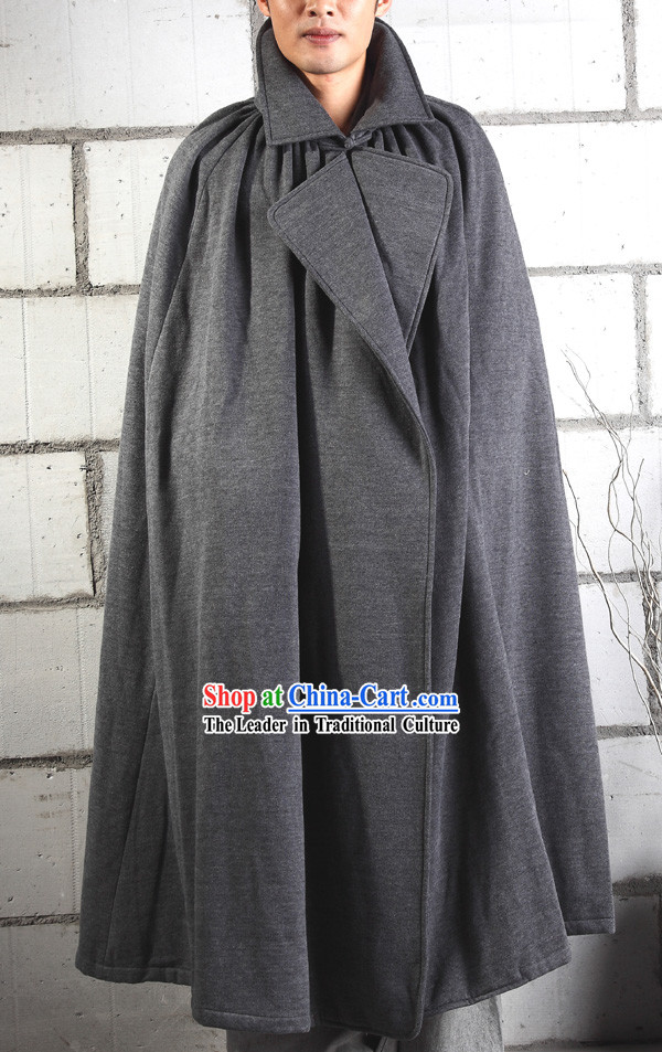 Traditional Chinese Monk Long Winter Warm Robe