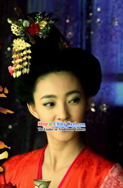 Tang Dynasty Palace Lady Hair Accessories