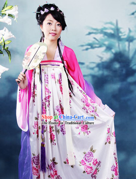 Ancient Chinese Tang Dynasty Ruqun Hanfu Dress