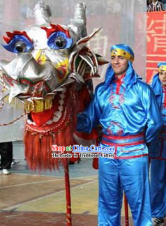 Professional Chinese Dragon Dancer Uniforms