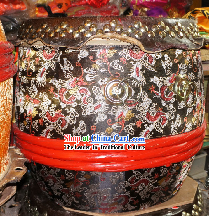 Chinese Festival Celebration Dragon Drum