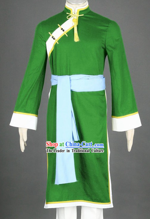 Chinese Kung Fu Master Costumes Complete Set